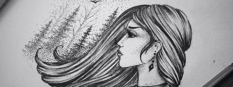 Свободный эскиз от Лилии Золотухиной