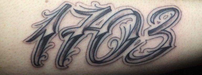 Художественная татуировка «1703». Мастер Ил Берёза