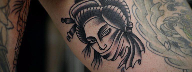 «Дама» от мастера художественной татуировки Александра Бахаревича
