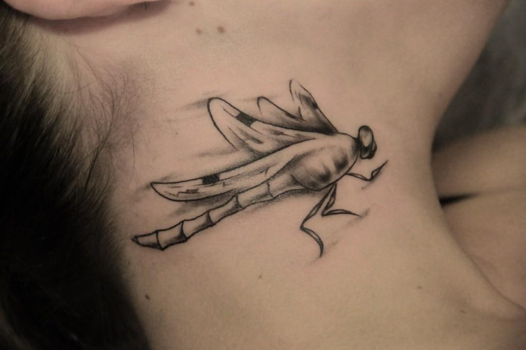 Татуировка Стрекоза