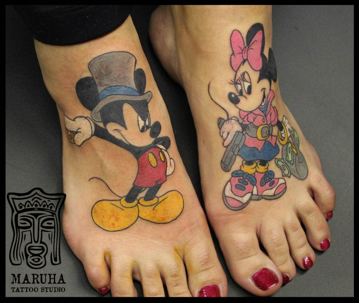 Фото девушек в татуировках 5 фотография