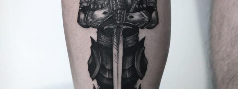 Художественная татуировка «Тираэль» . Мастер Инесса Кефир