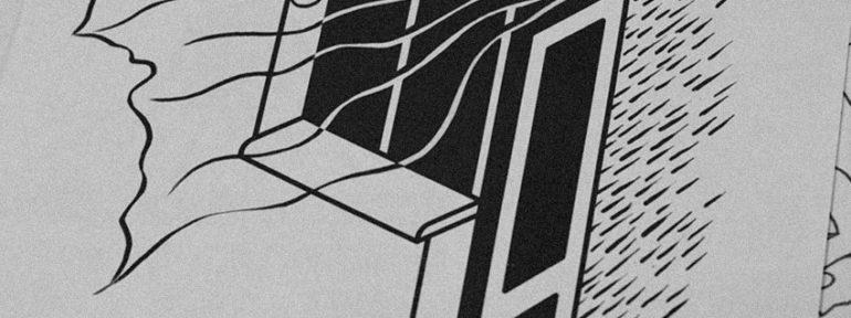 Свободный эскиз «Балкон». Мастер Данил Костарев
