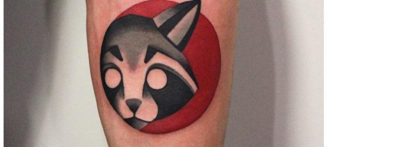 Художественные татуировки от Дениса Марахина