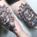 """Художественная татуировка """"Лев"""", эскиз разработан мастером для перекрытия некачественной тату"""