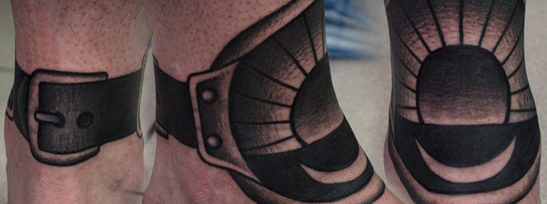 Художественная татуировка «Латы». Кавер. Мастер Даня Костарев