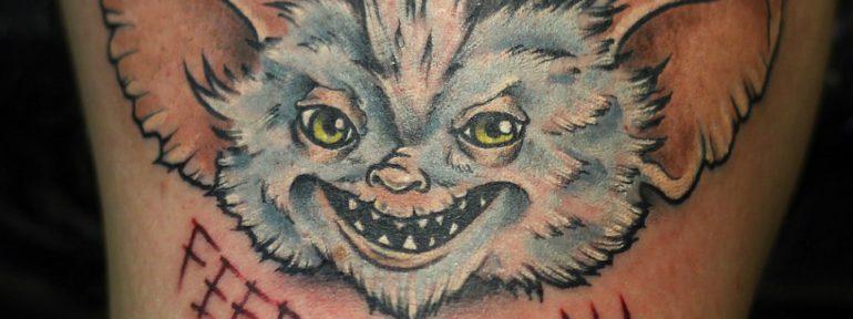 Художественная татуировка «Гремлин». Мастер- Ил Берёза.