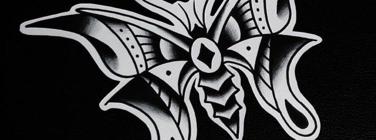 Свободный эскиз «Бабочка». Мастер- Александр Бахаревич