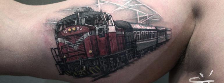 Художественная татуировка от Анны Корь