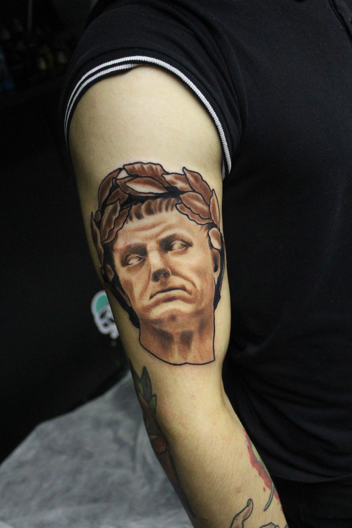 Художественная татуировка Портрет