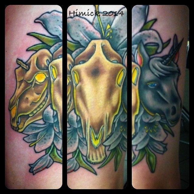 Значение татуировки Единорог — мужские и женские варианты тату с Единорогом