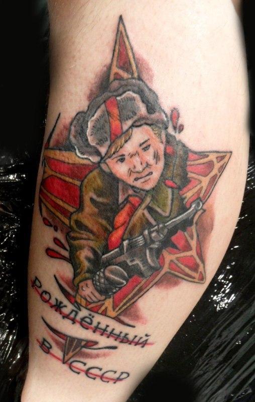 Виды армейских татуировок – самые популярные армейские тату сегодня