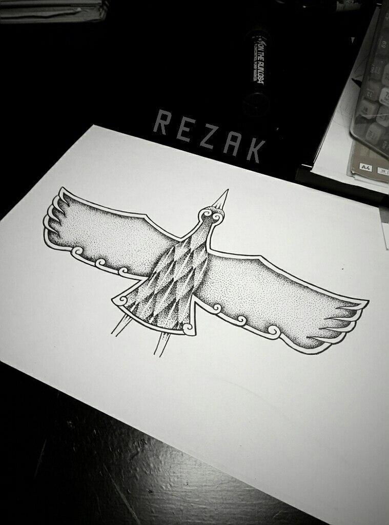 Свежий эскиз от Мастера — Jak REZAK