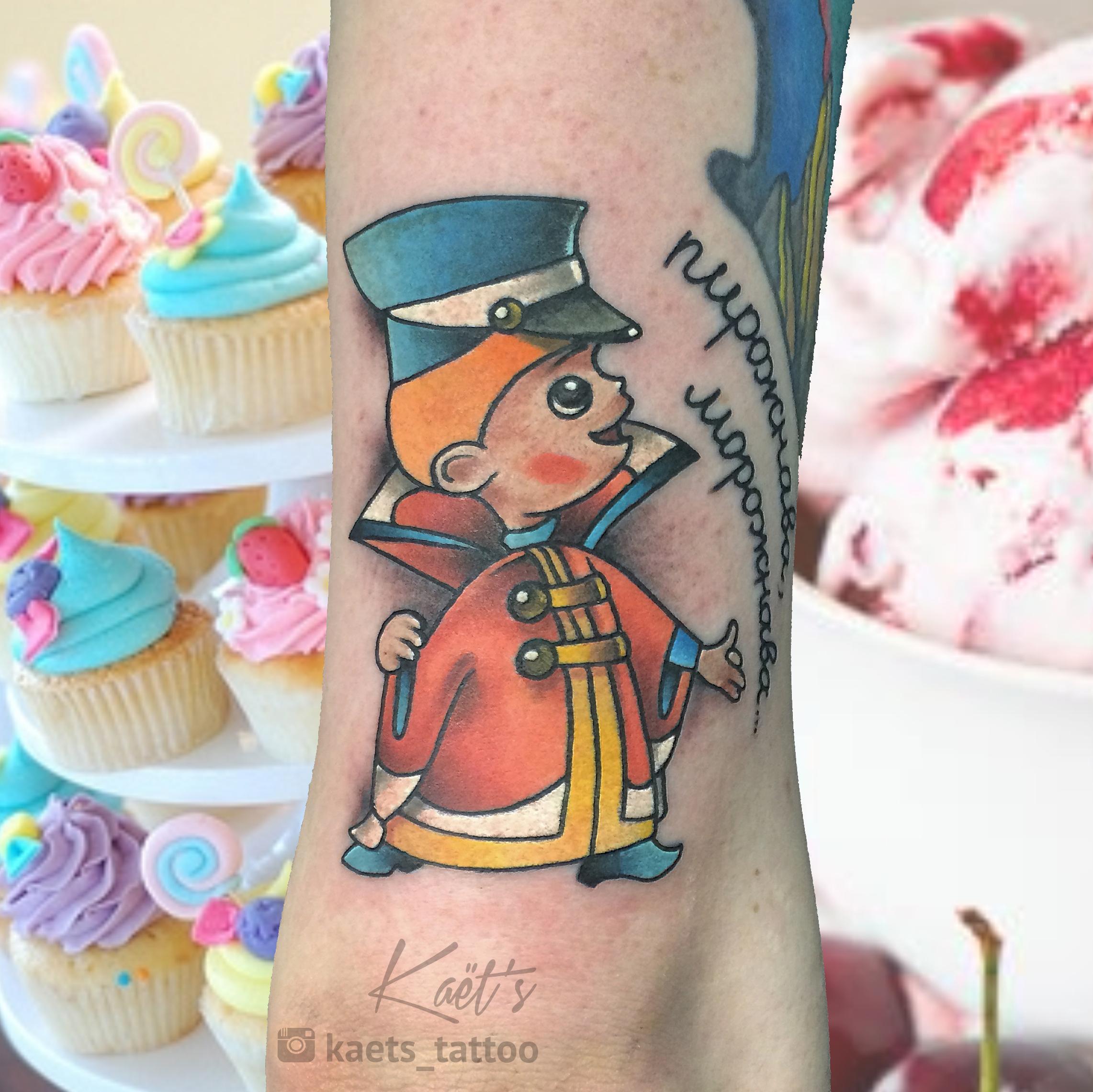 Художественная татуировка «Тридевятое царство». Мастер- Ил Берёза.
