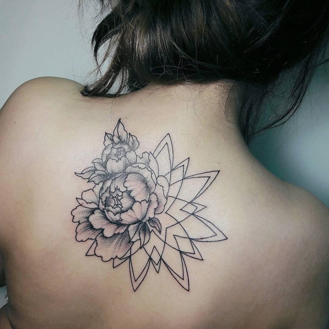 Художественная татуировка «Мандала». Мастер Анастасия Куликова