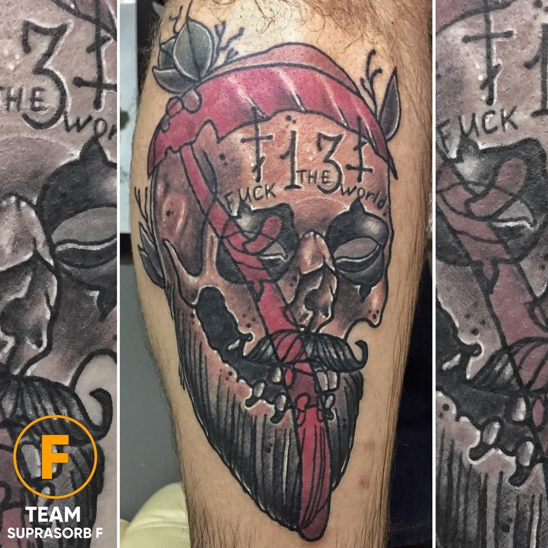 Художественная татуировка «Череп». Мастер Руслан Тавакалов
