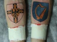 Татуировка эмблема на предплечье