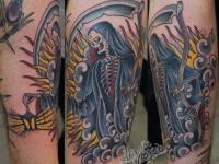 Татуировка смерть