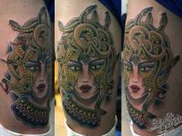 Татуировка Горгона Медуза