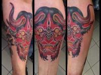 Татуировка монстр