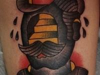 Татуировка ступени в голове