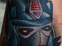 Татуировка Шлем трансформера