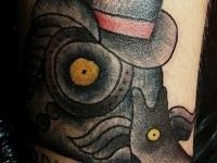 Татуировка Утка