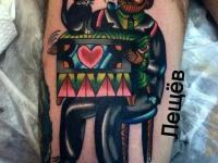 Татуировка шарманщик