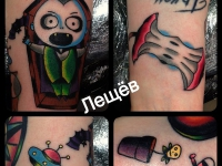 Татуировка фигуры