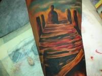 Татуировка пристань