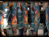 Татуировка космос