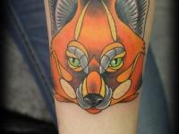 Татуировка лис