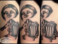 Татуировка кукла