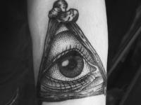 Татуировка взгляд