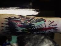 Татуировка змей