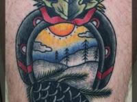 Татуировка подкова