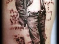 Татуировка человек