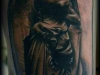 Татуировка ангел