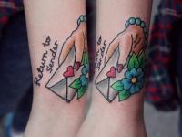 Татуировка конверт