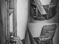 Татуировка гильотина