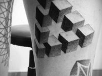 Татуировка кубики