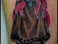 Татуировка девочка