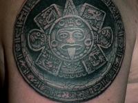 Татуировка каменный знак