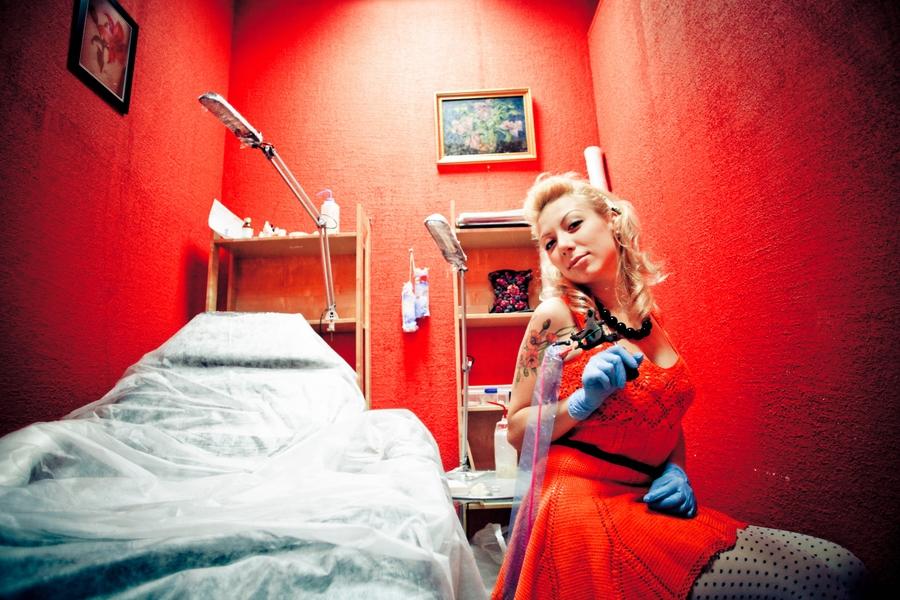 Хельга Хаген - Фотосерия: наши мастера за работой