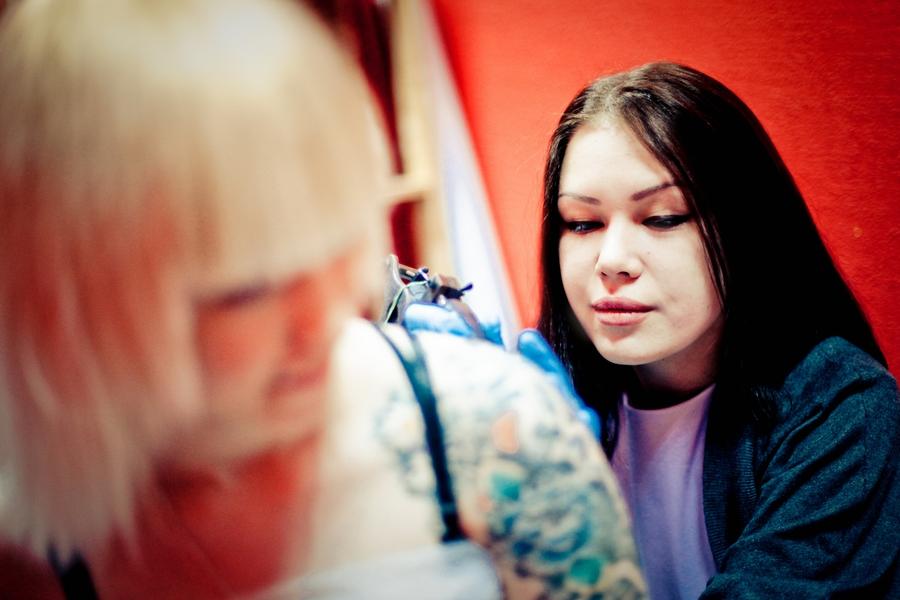 Виолетта Доморад - Фотосерия: наши мастера за работой