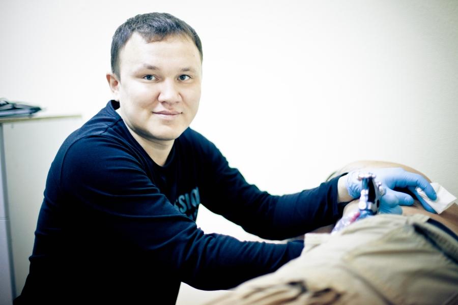 Чирков Игорь - Фотосерия: наши мастера за работой