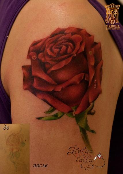 перекрытие некачественных татуировок cover up татуировка тату салон татуировщики тату мастер  тату студия Maruha