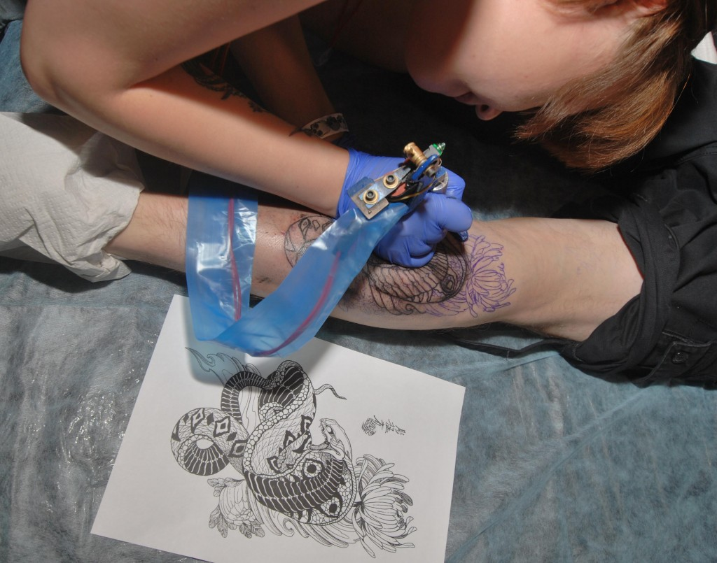 ещё немного фотографий с тату фестиваля