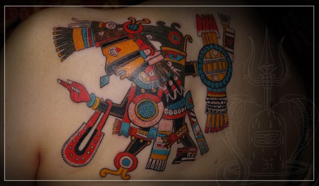 Художественная татуировка, Татуировка Майя, татуировка Тецкатлипока, этническая татуировка, artist tattoo, tattoo tezkatlipoka, ethnic tattoo