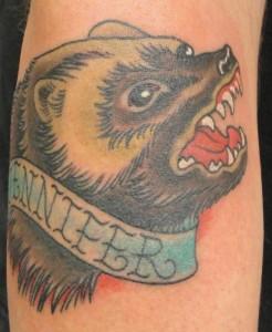 Что означает изображение росомахи в тату - смысл татуировки росомаха